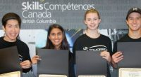 Congratulations to Cariboo Hill student's Cameron Mah, Kristof Nemeth, Vishal Reddy, Robert Chang, Aaron Harpaz-Lau, Janice Simpson, Safiya Dina and Trevor Lim who placed first in the the Skills Canada […]