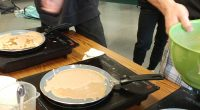 Chef Kevin Houssais visited the school last week to do a lesson with all French 8 students on French crepes. We learned a bit about the origin of crepes and […]