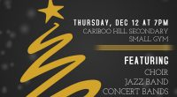 Please come to our Winter Concert – A Not So Silent Night Thursday, December 12, 201 @ 7:00 pm in the Small Gym